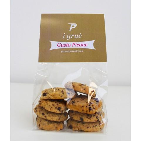 Biscotti al cioccolato gruè